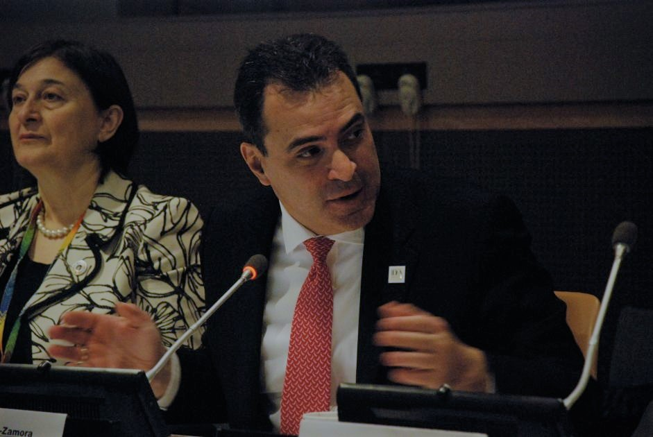Dr. Kevin Casas-Zamora, Secretary-General at International IDEA. Launch of the Global State of Democracy 2019 Report in New York, UNHQ