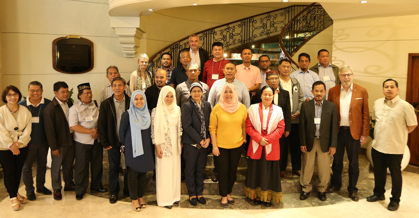 Members from theBangsamoro Transition Authority (Photo from the Archive).Image credit: International IDEA.