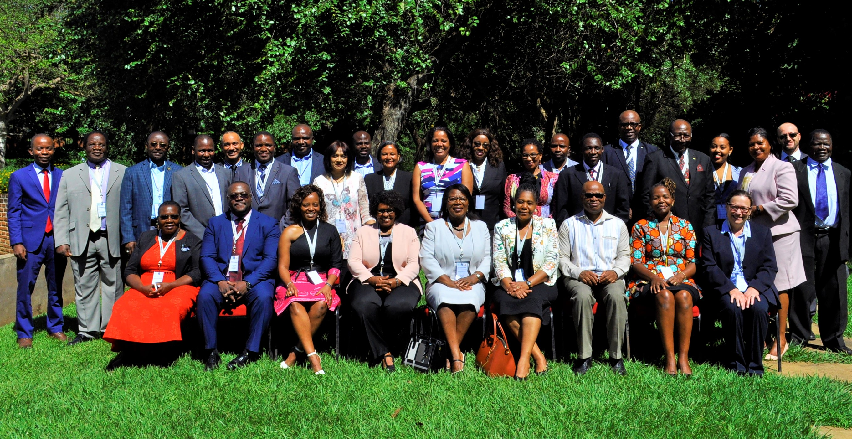 Group photograph of the 2018 New Commissioners' Orientation participants held in Lilongwe in April 2018. Photo credit: Chris Sekani (HAAG Photo Graphics)