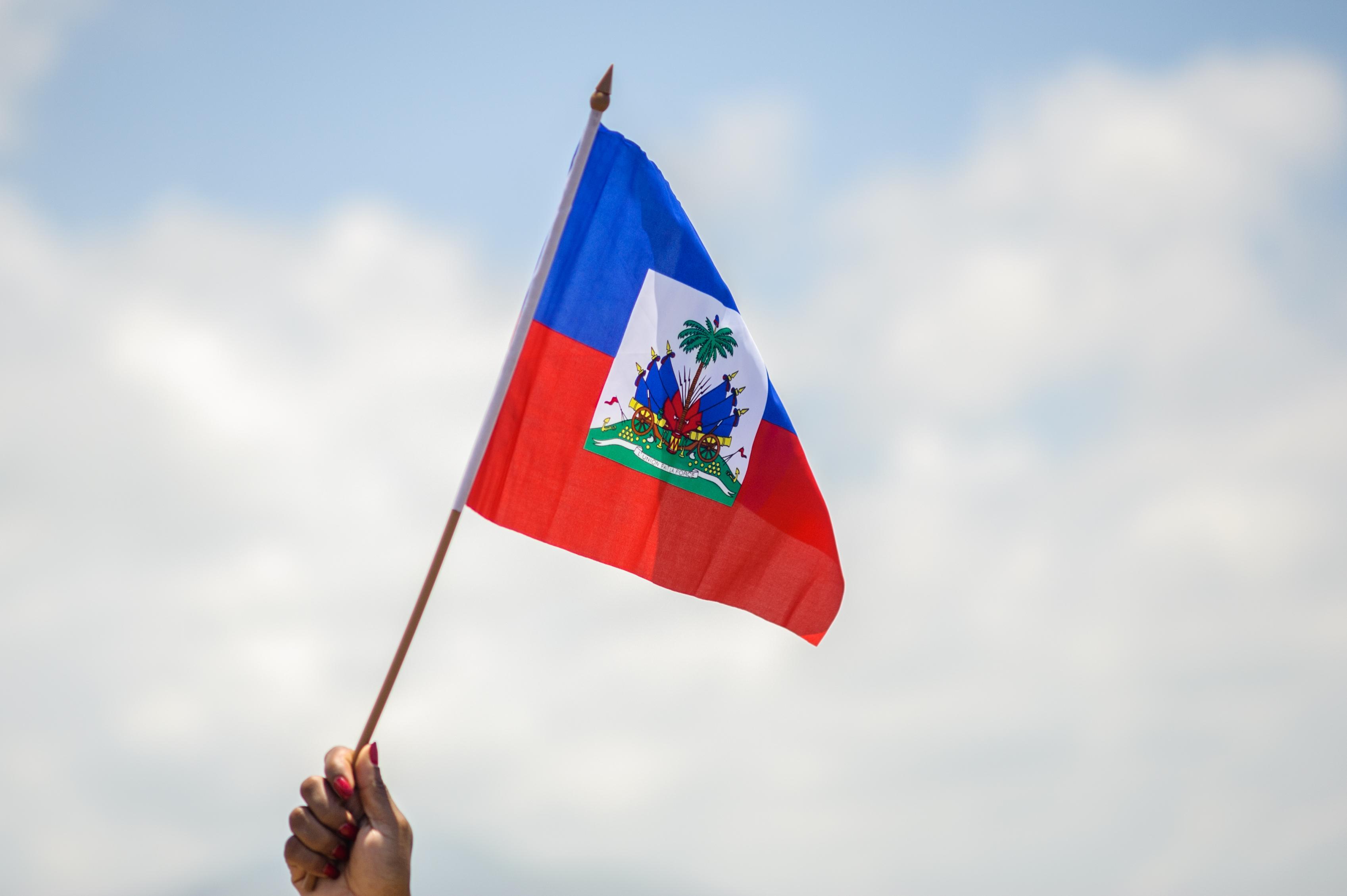 Flag of Haiti, Image: Ayiti Drapo