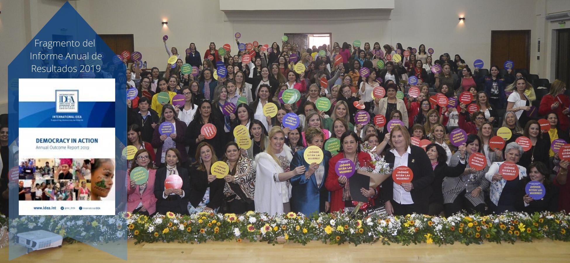 Una reunión de redes de mujeres en Paraguay, 24 de agosto de 2019.
