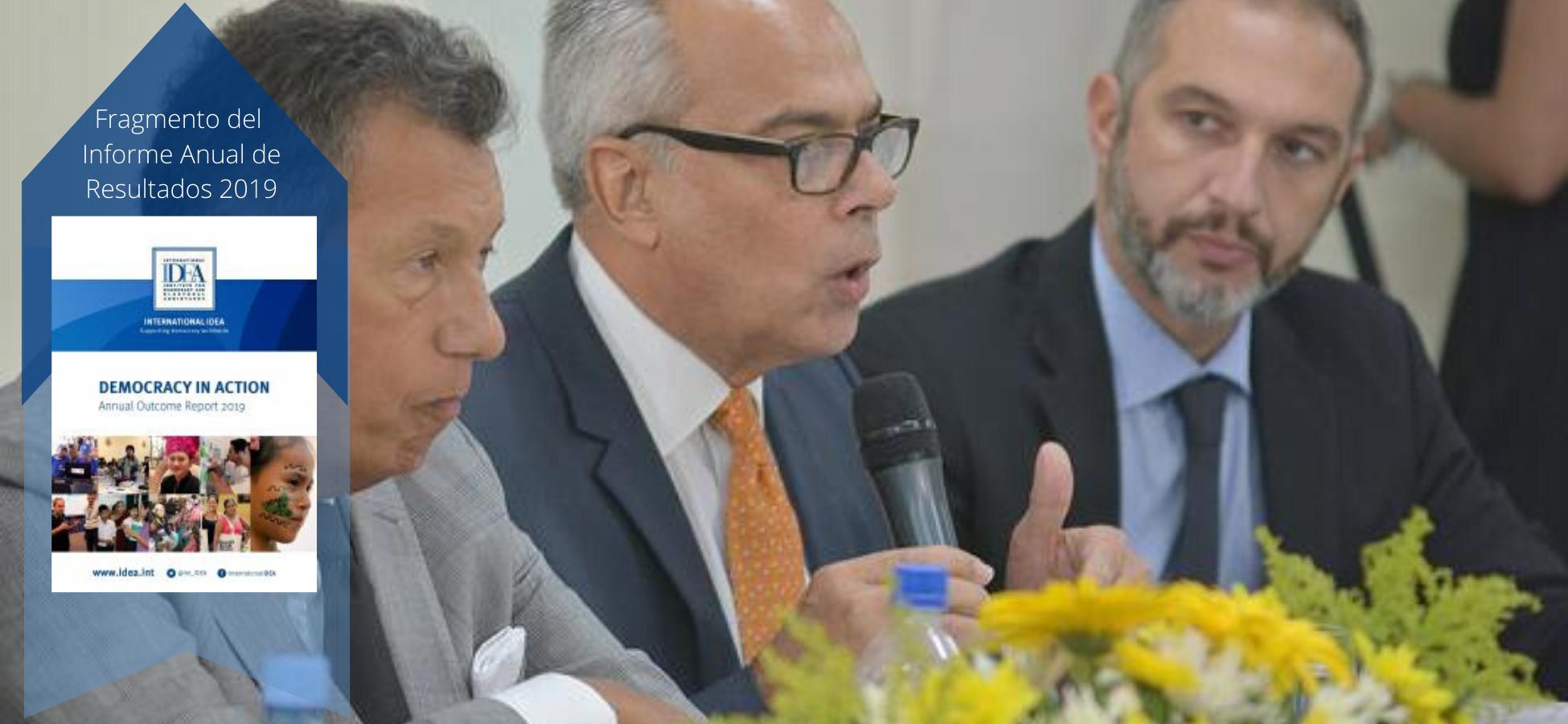Daniel Zovatto, Director Regional de IDEA Internacional para América Latina y el Caribe, habla sobre los riesgos del mal uso de las redes sociales.