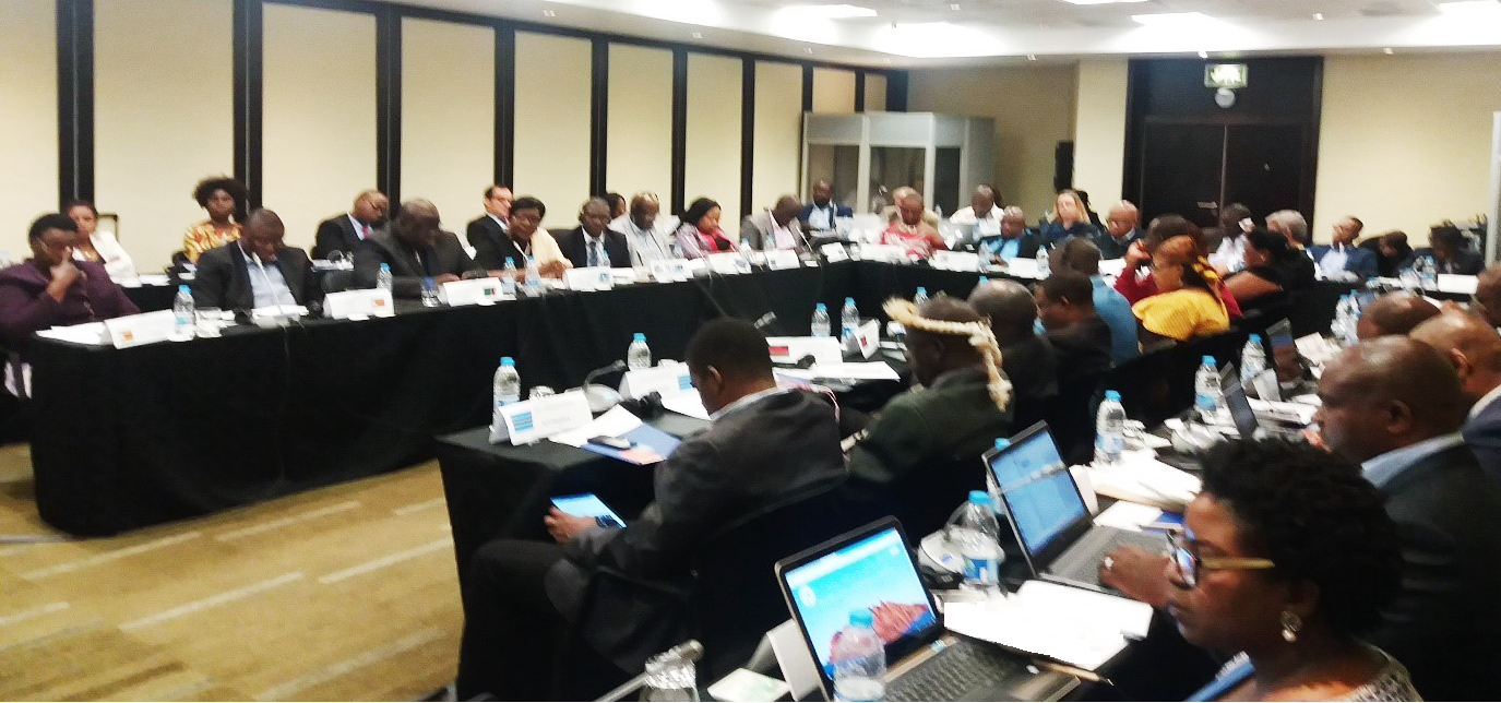 Experts at the Regional Policy Dialogue, September 2017, Johannesburg, South Africa. Photo credit: International IDEA
