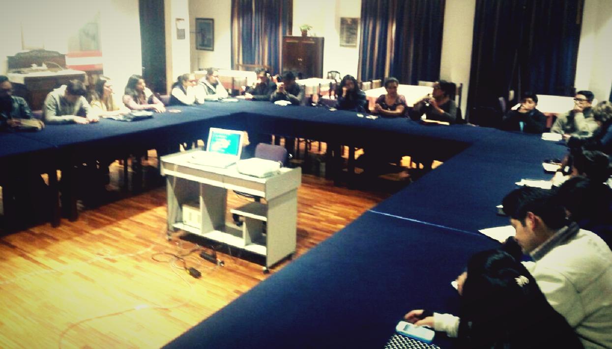 Participantes en el taller. Crédito de la foto: Carolina Floru, IDEA  Internacional