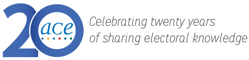 ACE20: Celebrating twenty years of sharing electoral knowledge.