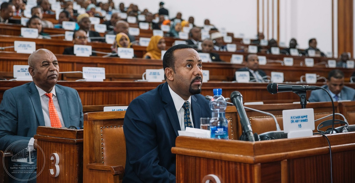 Ethiopia's Prime Minister Abiy Ahmed. Image credit: Office of the Prime Minister-Ethiopia@flickr.