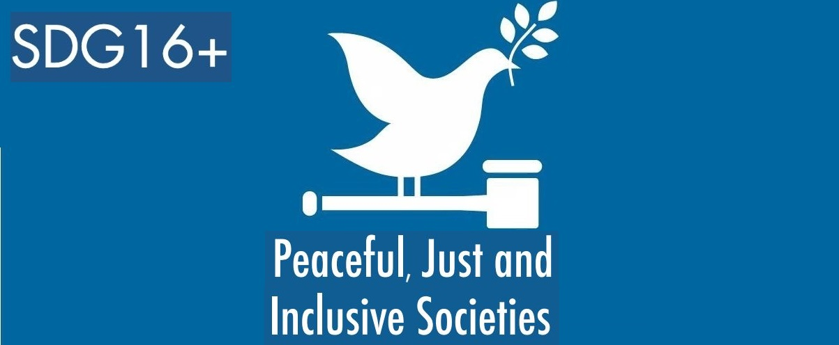 SGD Goal 16 Peace, justice and strong institutions