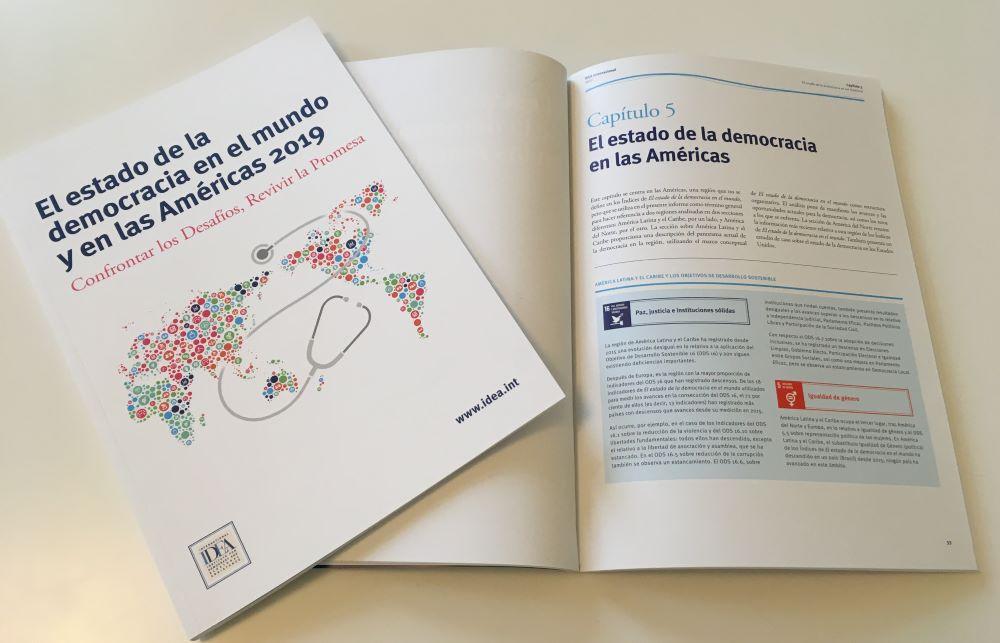 El estado de la democracia en el mundo y en las Américas 2019: Confrontar los Desafíos, Revivir la Promesa
