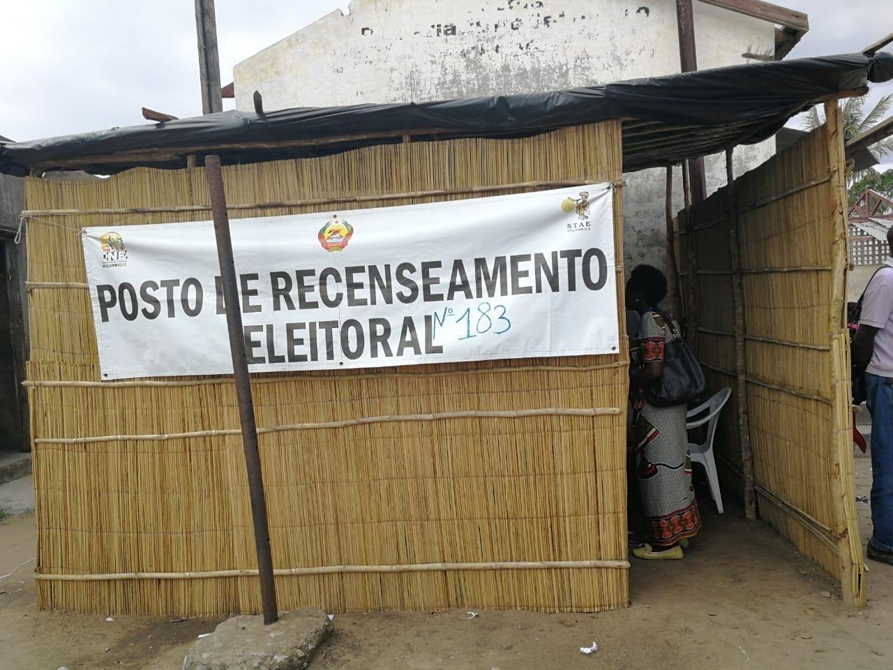 The EU-funded 'Support to Consolidation of Democracy in Mozambique Programme' worked with citizen voter registration officials, who created voter cards in rural conditions. Photo credit: International IDEA