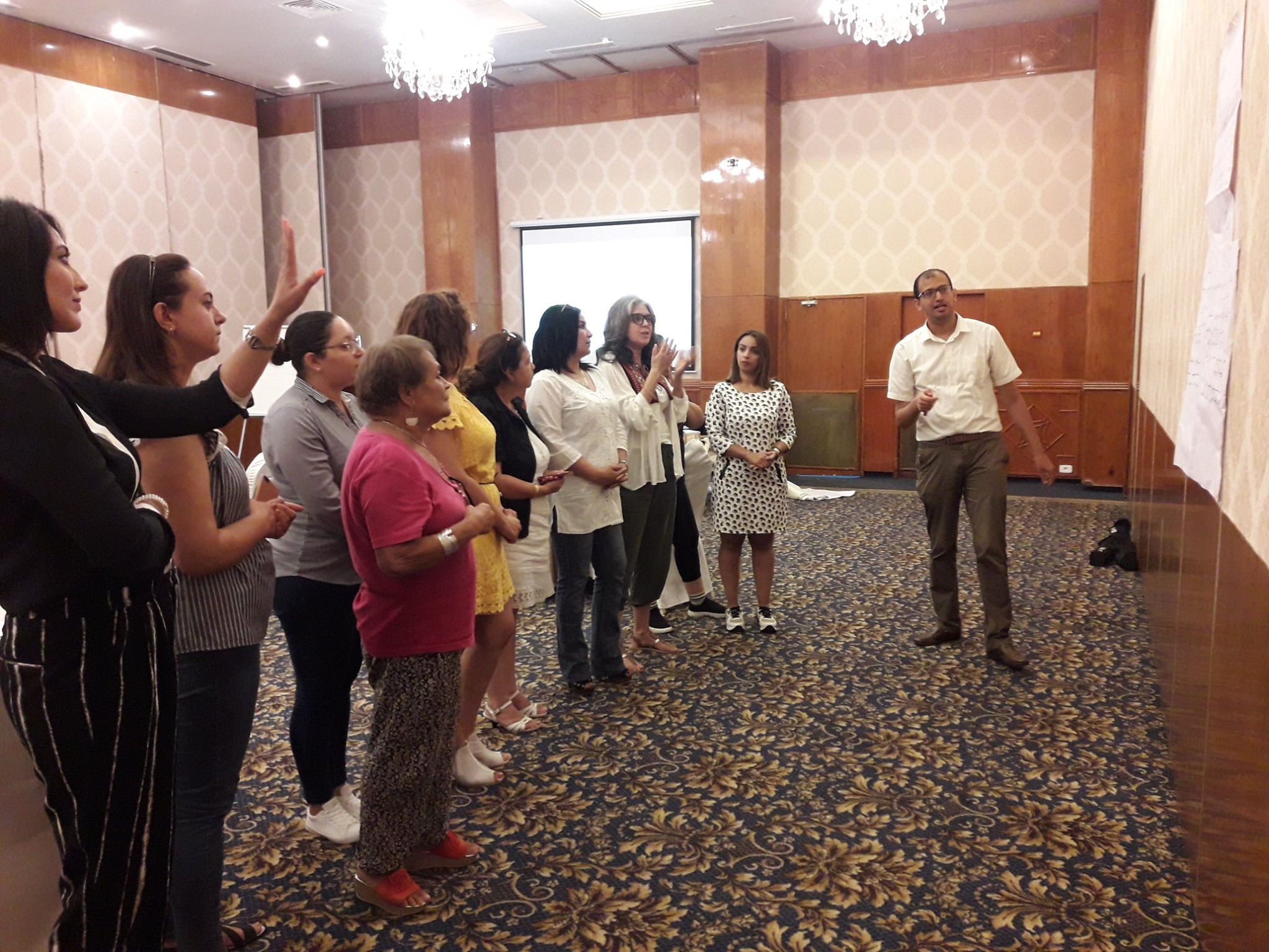 Campaign management training for women candidates in the 2019 Tunisian parliamentary elections. Photo credit: International IDEA