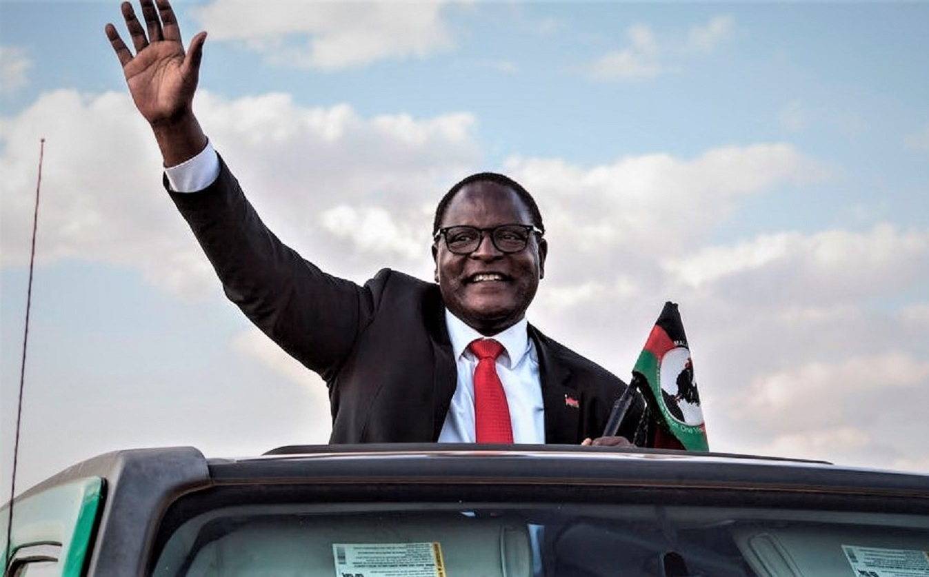Lazarus Chakwera, the new president of Malawi. Amos Gumulira/AFP via Getty Images.