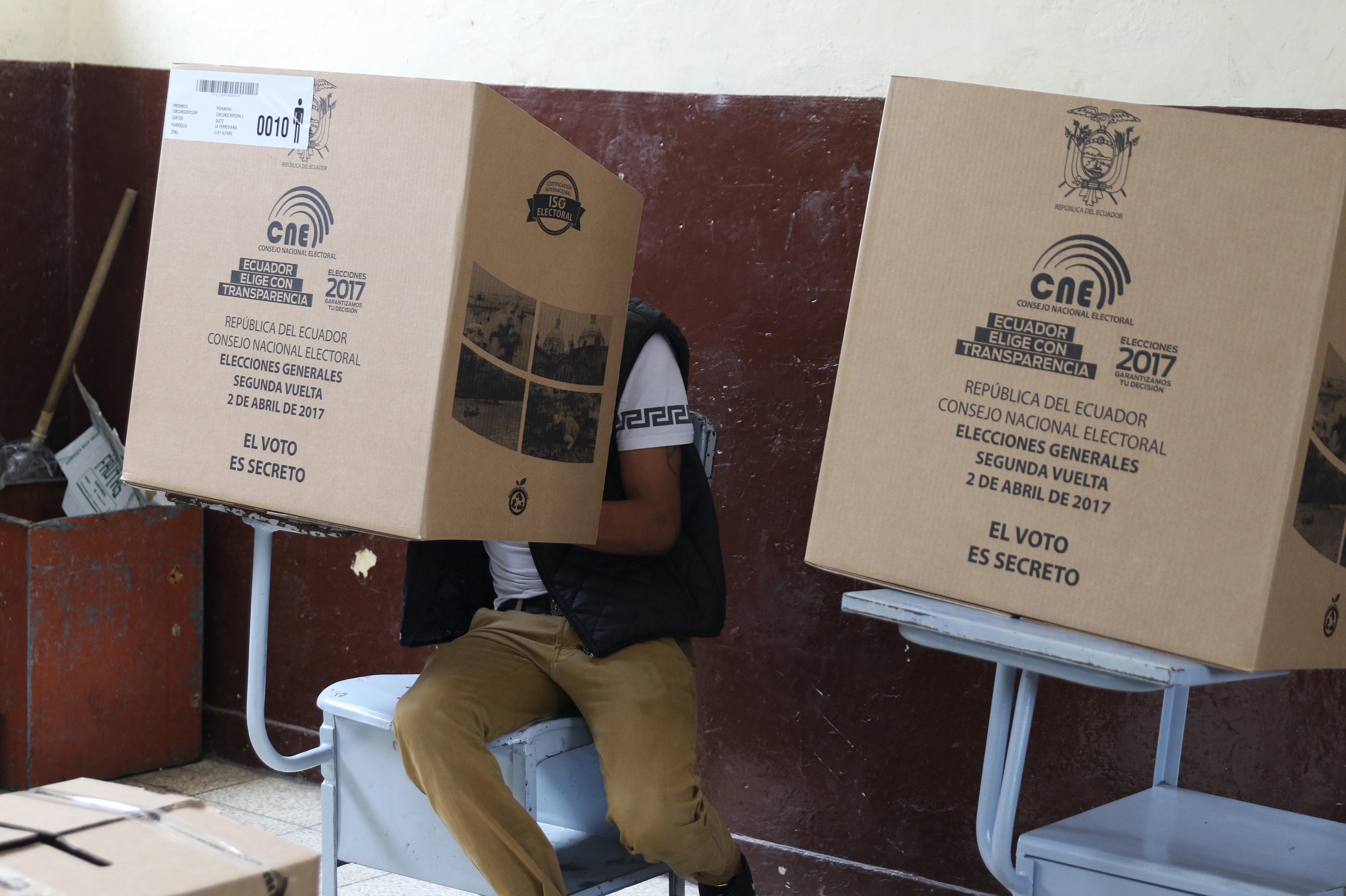 Elections 2017 in Ecuador. Archive Image