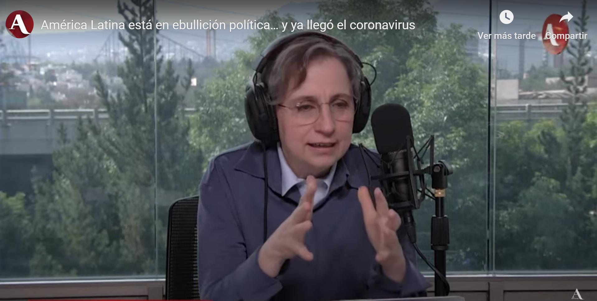 Carmen Aristegui entrevista a Daniel Zovatto