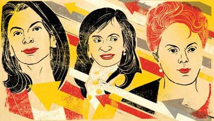 Chinchilla, Kirchner and Rouseff