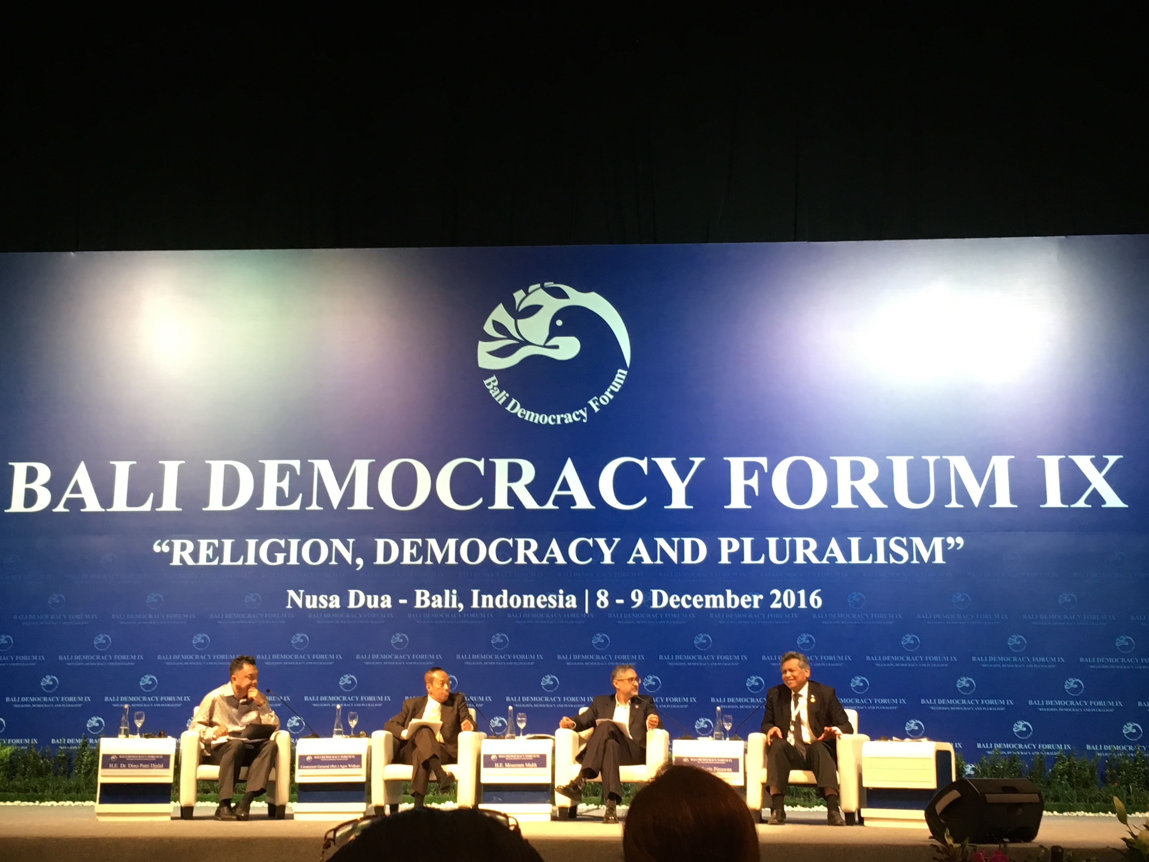 Bali Democracy Forum 2016