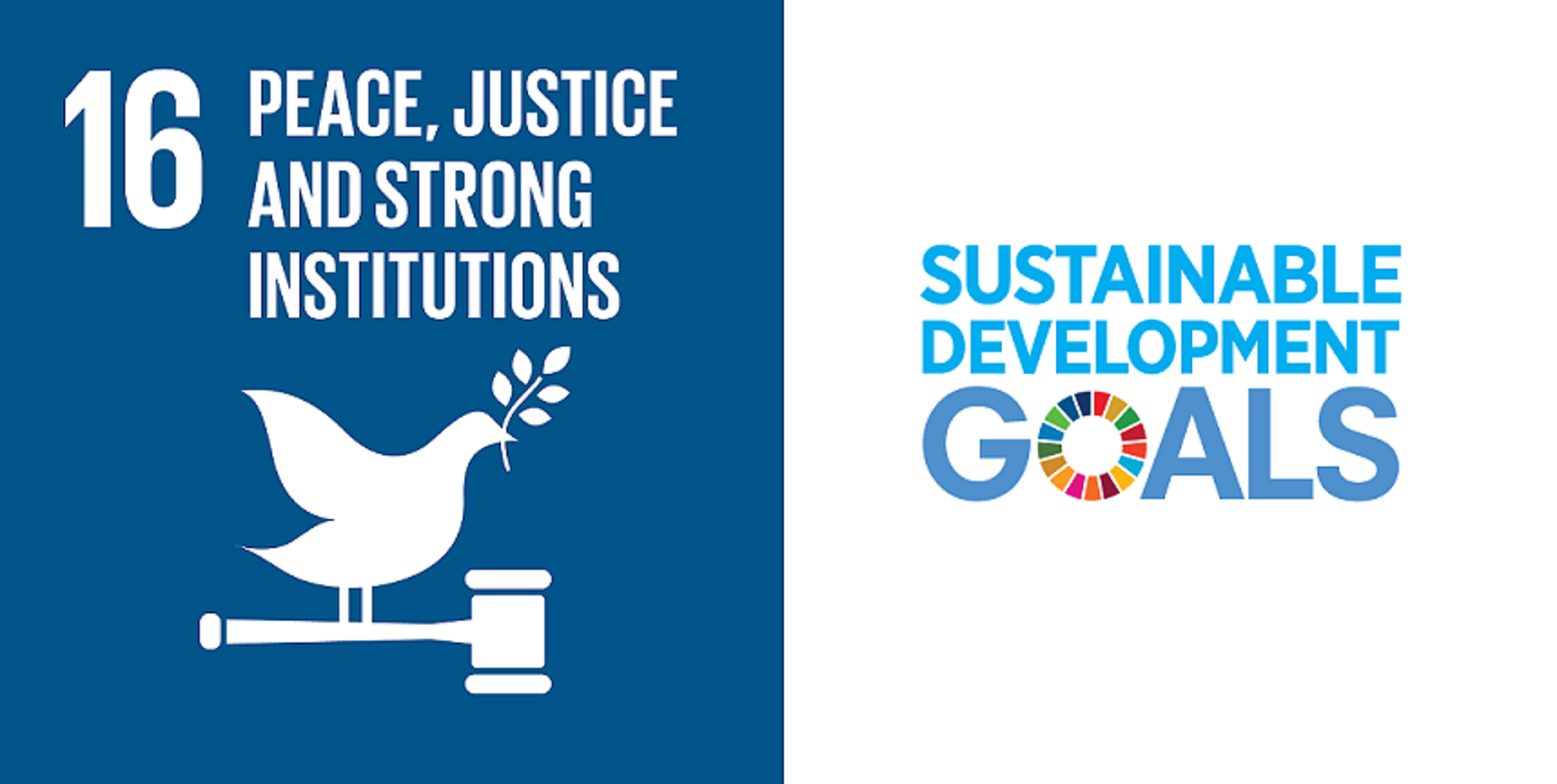 Goal 16: Peace, Justice and Strong Institutions