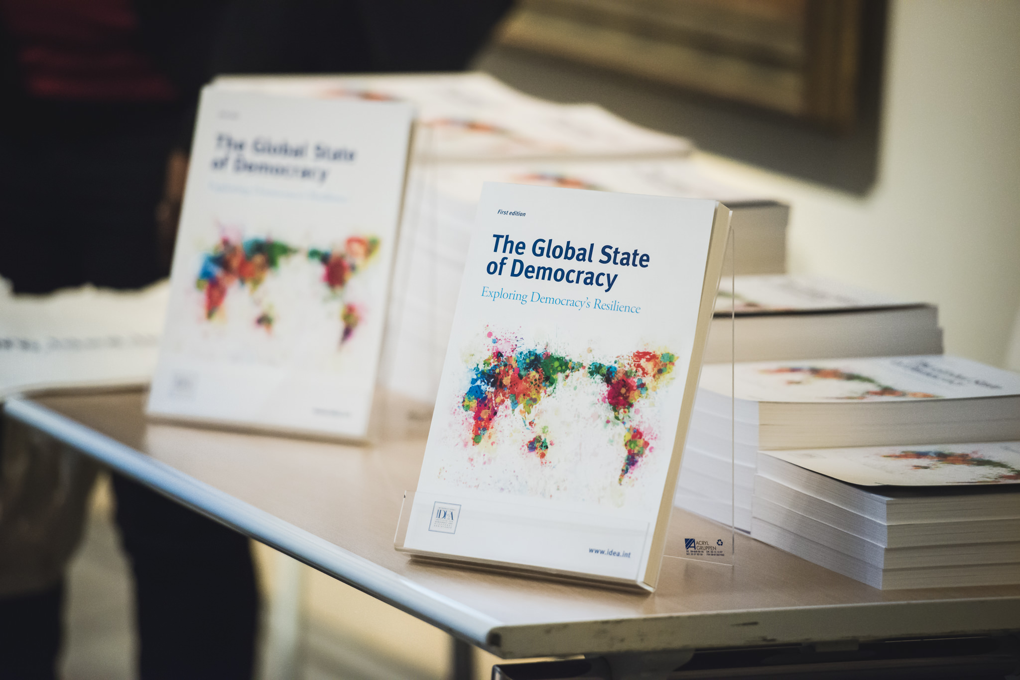 The Global State of Democracy. Image: International IDEA/Stuudio Huusmann