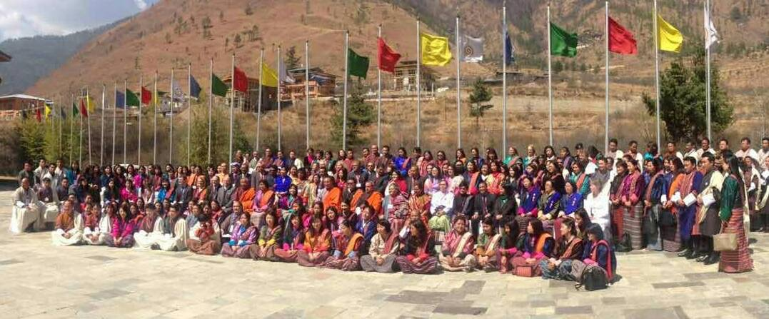 Participants at the IWD Conference