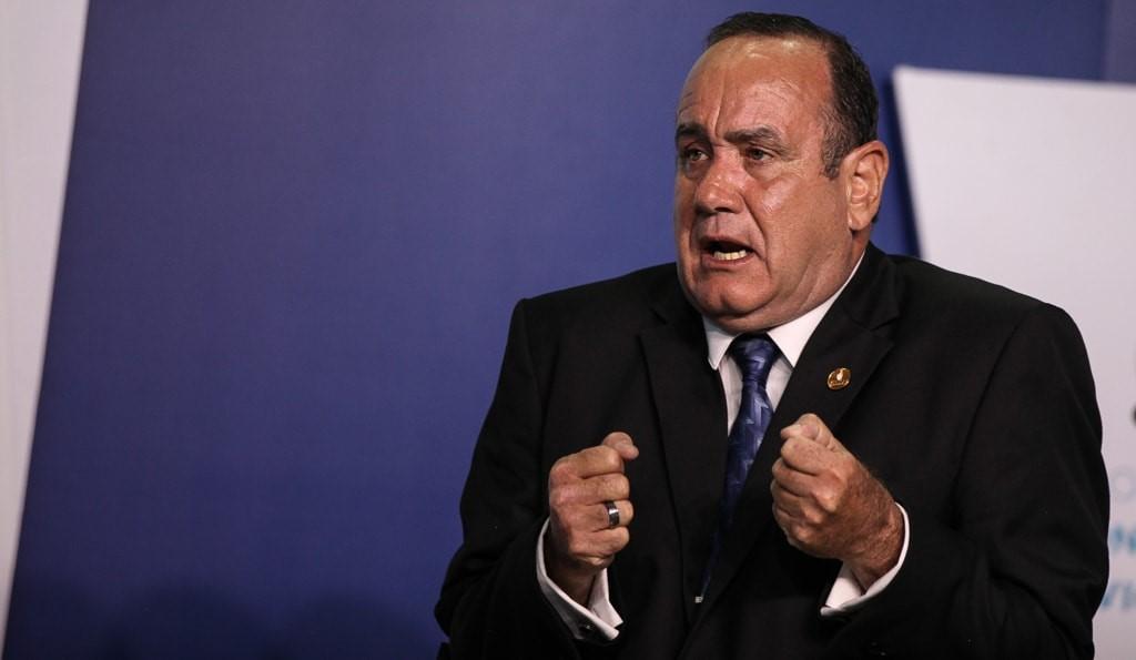 Alejandro Giammattei, presidente electo de Guatemala 2020-2024.