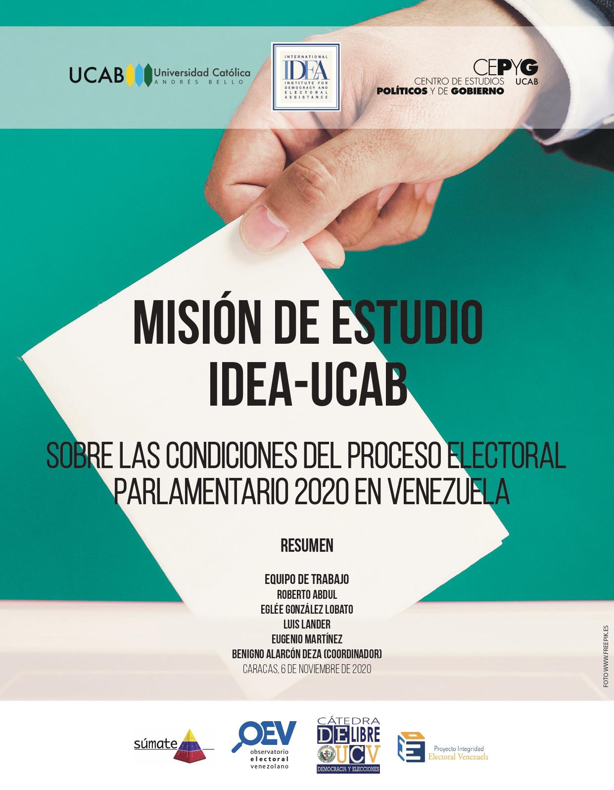 Image credit: Universidad Católica Andrés Bello (UCAB)and International IDEA.