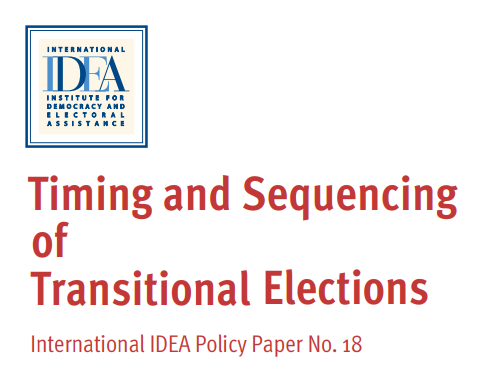 Elections | International IDEA