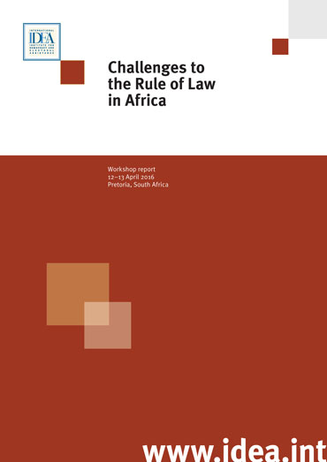 Is south africa seeing a return to the rule of law? More evidence.