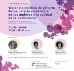 Flyer seminario virtual 8 sept 2020, Paraguay