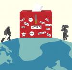 Illustration: Migration and Democracy-Credit Joshua Sowah