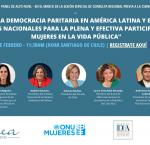 Panel de alto nivel: Hacia la democracia paritaria en América Latina y el Caribe