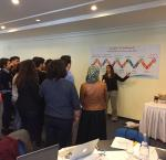 International IDEA introduces the Academy and its modules to participants in Tunisia in January 2017.