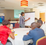 Training on results-based management, transparency and accountability to female mayors in Haiti, April 2017