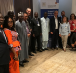 Group picture of the participants to the'Timing and Sequencing of Elections: Overcoming Authoritarianism and Deep Political Crises',13-14 September 2017, Dakar, Senegal. Photo credit: International IDEA