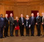 High level panel at the Swedish Riksdag, 30 November 2017. Image: Melker Dahlstrand/Swedish Parliament.