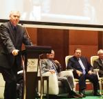 The Secretary-General of International IDEA, Yves Leterme, during his speech. Photo credit: International IDEA