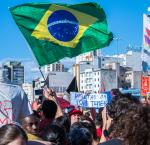 "For most part of the year, Brazil has seen large number of citizen protests in light of the Lava Jato (""Car Wash"") scandal and the Odebrecht case (Photo  Cretit: Márcio Motta)"