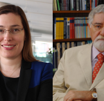 Dr Nicole Goodman (Image: Brook University) & Dr Celso Lafer (Image: Brown University Library)