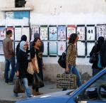 Young people at election time in Tunisia. Credit: Stefan de Vries