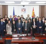 Participants of the public forum on Strengthening Public Service Accountability through Citizen Participation in Ulaanbaatar on 6 December 2018. Image credit: Municipality of Ulaanbaatar.