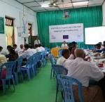 Training of sub-commission and poll workers. Image credit: International IDEA