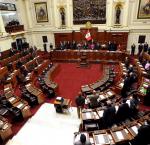 Sesión del Pleno del Congreso de la República. Foto: Andina/CDR