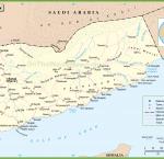 خارطة اليمن
