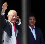 President Pedro Pablo Kuczynski resigns his position. Photo credit: Gestión.