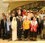 Dr Cheryl Saunders with members of the Bangsamoro Transition Authority. Image credit: International IDEA.