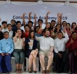 Participants of Constitution Academy June 2019. Image credit: International IDEA