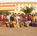 Participants of the 'Capacity Building Workshop for Women Leaders for a gender-sensitive Implementation of the Political Agreement for Peace and Reconciliation in Central African Republic' held in June 2019 in Bangui. Photo credit: International IDEA