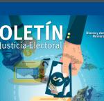 Fragmento de la portada del Boletín de Justicia Electoral No.4