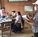 Elecciones en Bolivia en octubre 2020. Image credit: International IDEA