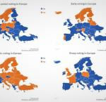 Availability of Special Voting Arrangements in Europe, International IDEA, 2020. Researched and compiled by Anika Heinmaa.