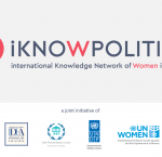 iKNOW Politics is a joint project of International IDEA, the Inter-Parliamentary Union (IPU), the United Nations Development Programme (UNDP), and the United Nations Entity for Gender Equality and the Empowerment of Women (UN Women).