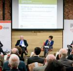 "(Left to Right) Dr Daniel Zovatto, Prof Carlos Malamud, Ms Cristina Manzano and  Prof Rogelio Núñez, during the Debate ElCano 17: ""The intense Latin American electoral cycle (2017-2019): where will the region evolve?"" (Photo Credit: Jesus Anton / Real Instituto ElCano)"